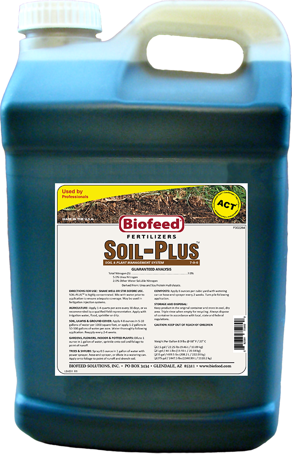 Soil-Plus Jug